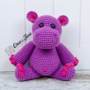 Pip the Hippo Amigurumi Crochet Pattern