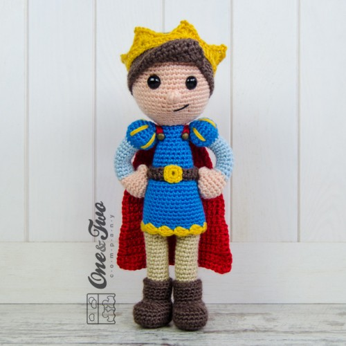 Little Prince Amigurumi Free Pattern : Prince Tristan Amigurumi Crochet Pattern