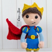 Prince Tristan Amigurumi Crochet Pattern