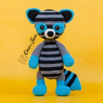 Rascal the Raccoon Amigurumi Crochet Pattern