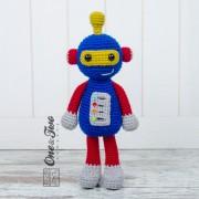 Robby the Robot Amigurumi Crochet Pattern