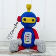 Robby the Robot Amigurumi Crochet Pattern