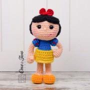 Snow White Amigurumi Crochet Pattern