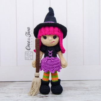 Willow the Witch Amigurumi Crochet Pattern