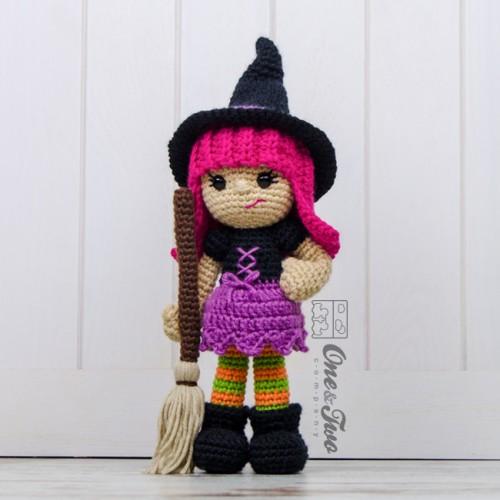Crochet Patterns Free American Girl Dolls : Willow the Witch Amigurumi Crochet Pattern