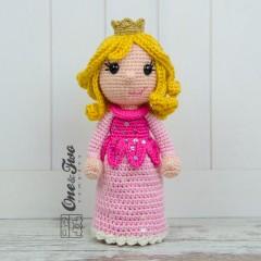 Princess Rose Amigurumi Crochet Pattern