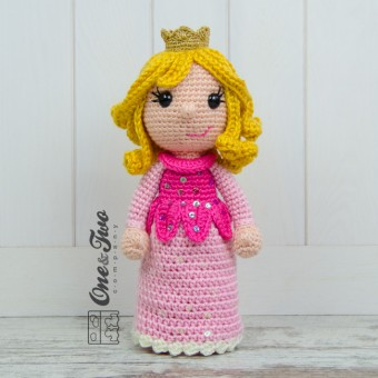 Princess Rose Amigurumi Crochet Pattern