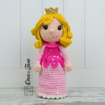 Amigurumi Rose Free Pattern : Princess Rose Amigurumi Crochet Pattern