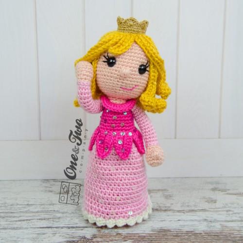 Amigurumi Star Wars Anleitung Kostenlos : Princess Rose Amigurumi Crochet Pattern
