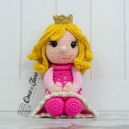Amigurumi Rose Free Pattern : Princess Rose Lovey and Amigurumi Crochet Patterns Pack