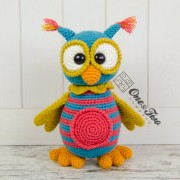 Quinn the Owl Amigurumi Crochet Pattern