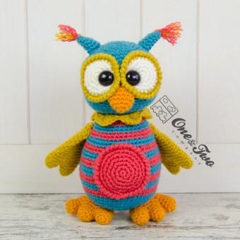 Quinn the Owl Amigurumi Crochet Pattern