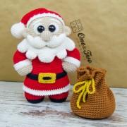 "Claus the Little Santa ""Little Explorer Series"" Amigurumi Crochet Pattern"