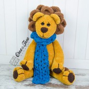 "Elliot the Big Lion ""Big Hugs Series"" Amigurumi Crochet Pattern"