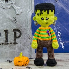 Frankie Amigurumi Crochet Pattern
