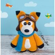 "Howard the Little Fox ""Little Explorer Series"" Amigurumi Crochet Pattern"