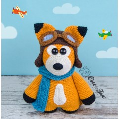 "Howard the Little Fox ""Little Explorer Series"" Amigurumi Crochet Pattern"