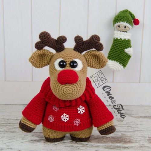 Rudy Reindeer Amigurumi : Rudy the Little Reindeer