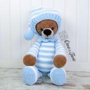 "Sydney the Big Teddy Bear ""Big Hugs Series"" Amigurumi Crochet Pattern"