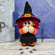"Agatha the Little Witch ""Little Explorer Series"" Amigurumi Crochet Pattern"