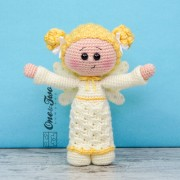 Annie the Angel Amigurumi Crochet Pattern