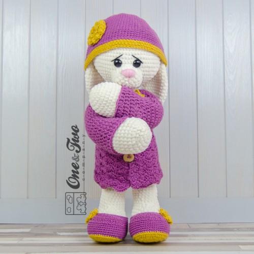 Amigurumi - Crochet Big White Bunny