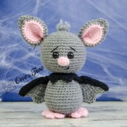 Brook the Tiny Bat Amigurumi Crochet Pattern