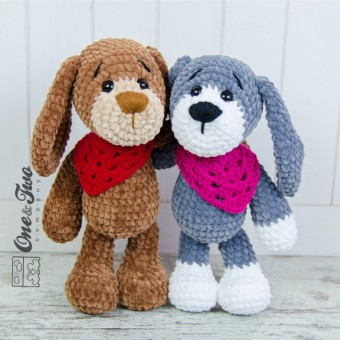 Joe the Puppy Amigurumi Crochet Pattern
