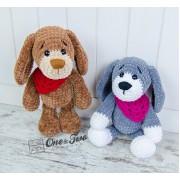 Joe the Puppy Amigurumi Crochet Pattern