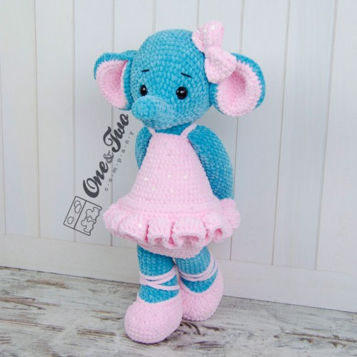 Adorable Crochet Elephant Amigurumi Free Patterns | 500x500
