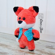 Franklin the Little Fox Amigurumi Crochet Pattern