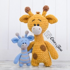 Gladys the Giraffe Amigurumi Crochet Pattern