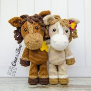 Haley the Horse Amigurumi Crochet Pattern