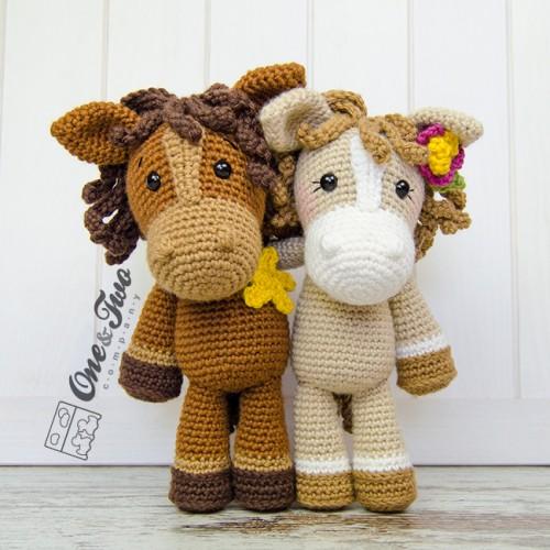 Haley The Horse Amigurumi Crochet Pattern