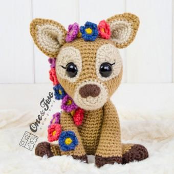 Meadow the Sweet Fawn Amigurumi Crochet Pattern