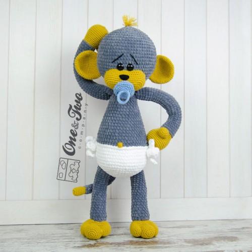 Morris the Big Baby Monkey
