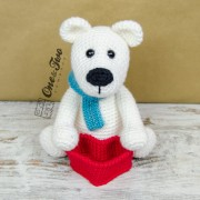 Parker the Polar Bear Amigurumi Crochet Pattern