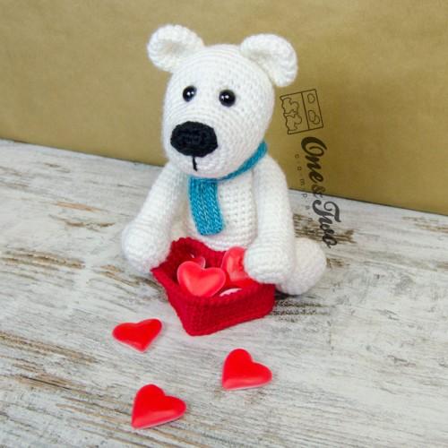 The polar bear amigurumi crochet pattern parker the polar bear amigurumi crochet pattern dt1010fo