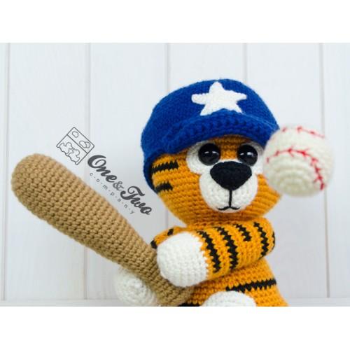 Riley The Little Tiger Little Explorer Series Amigurumi Crochet