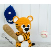 "Riley the Little Tiger ""Little Explorer Series"" Amigurumi Crochet Pattern"