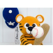 "Riley the Little Tiger ""Little Explorer Series"" Amigurumi Crochet Pattern"