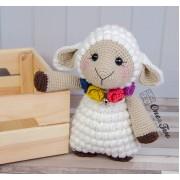 "Sophie the Little Sheep ""Little Explorer Series"" Amigurumi Crochet Pattern"