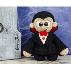 "Vlad the Little Vampire ""Little Explorer Series"" Amigurumi Crochet Pattern"