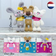 Pajama Party - Little Friends Series Amigurumi - Dutch Version