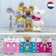Pajama Party - Little Friends Series Amigurumi - Dutch Version