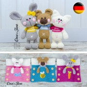 Pajama Party - Little Friends Series Amigurumi - German Version