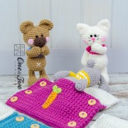 Pajama Party - Little Friends Series Amigurumi - English, Dutch, German