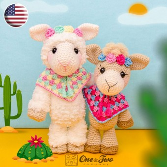 Astrid the Alpaca Amigurumi Crochet Pattern - English Version