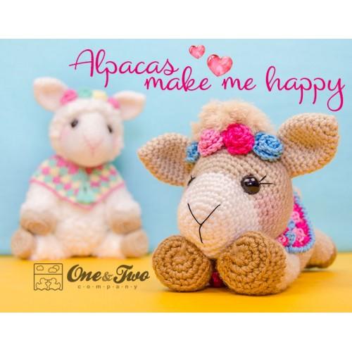 Amigurumi Alpaca Almina Free Crochet Pattern - Cool Creativities | 500x500