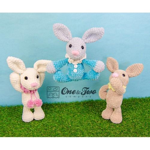 Bubble the Little Bunny Amigurumi Crochet Pattern - Dutch Version